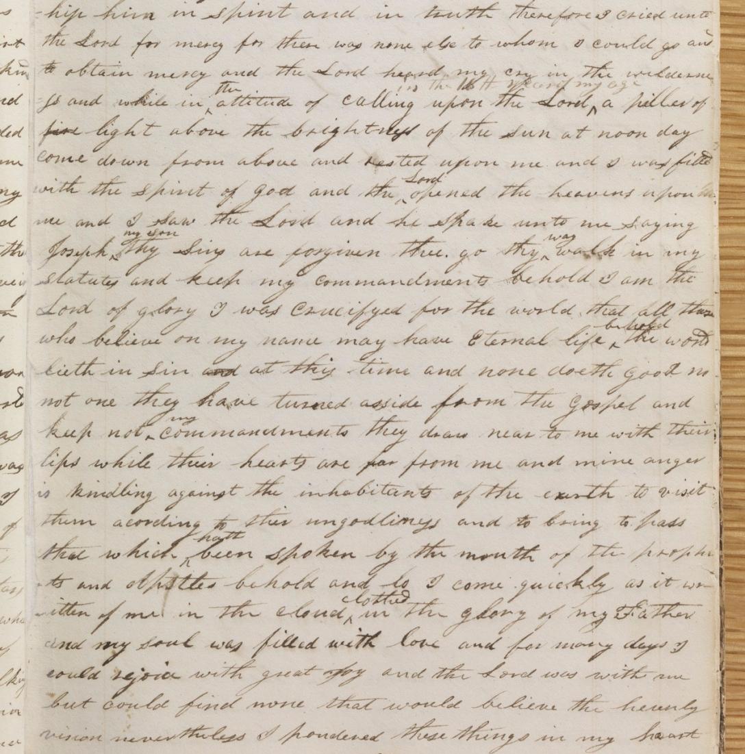 Original manuscript.
