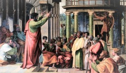 Acts 17:16-34 BHT, Paul's Areopagus Sermon about the Nature of God