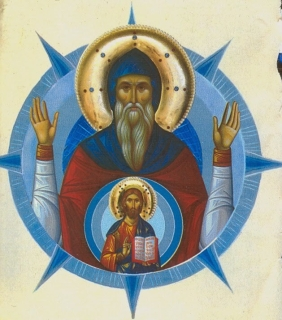 St. Symeon the New Theologian, as a Christ-bearer